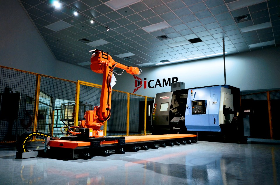 With its high-tech equipment and consultation services, the Innovation Centre for Advanced Manufacturing and Production (ICAMP) in North Bay helps companies brainstorm ideas, create prototypes, and test concepts, helping to advance their ideas to commercialization. (Supplied photos/ICAMP)