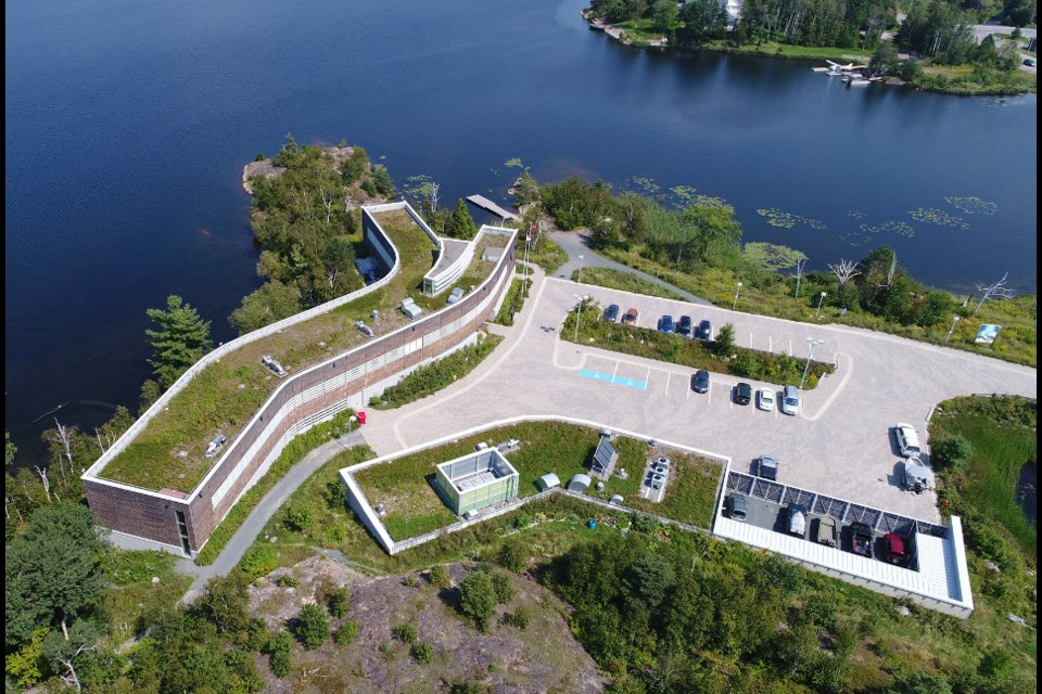 The Vale Living with Lakes Centre is a prime example of how Sudbury has transformed its lakes and green spaces as part of ongoing reclamation efforts. (Supplied photo)
