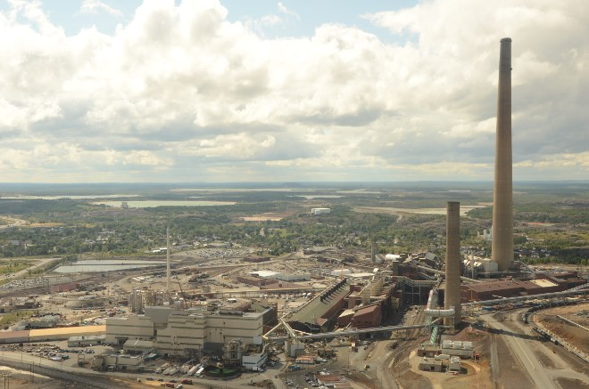 Vale Copper Cliff smelter