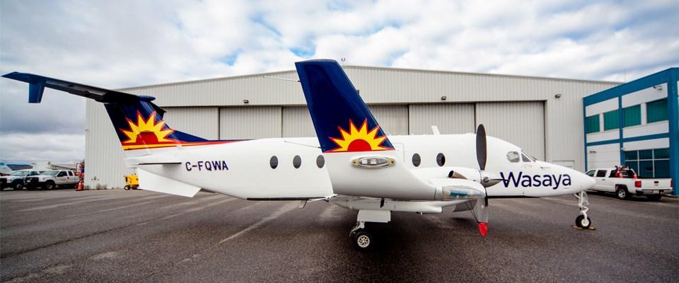 Wasaya aircraft