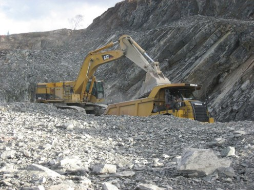 Wesdome's Mishi open-pit mine