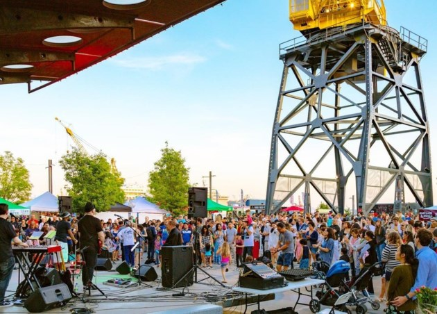 Here's the band lineup for North Vancouver's Shipyards Festival this weekend