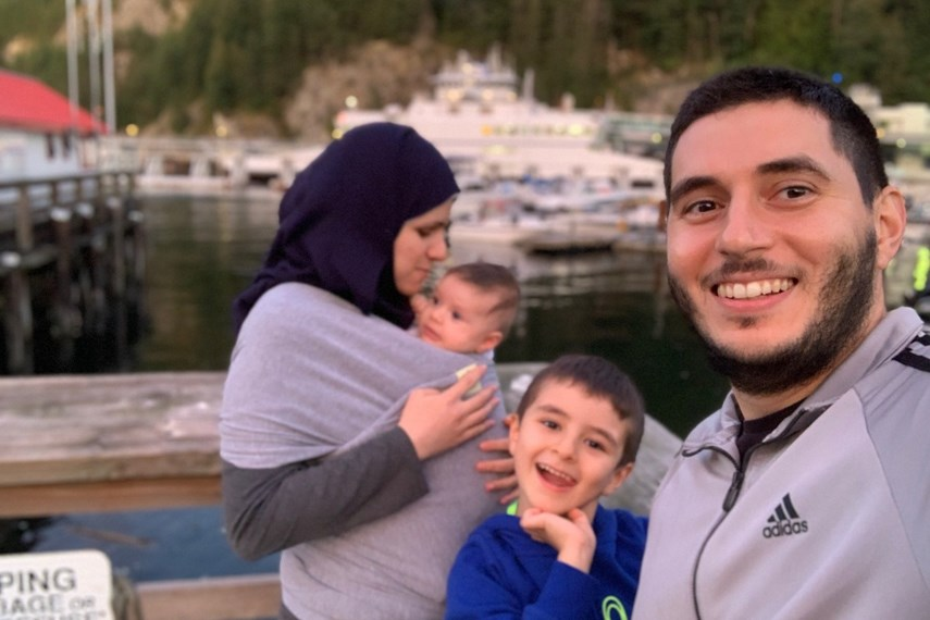 West Vancouver's Batal family enjoys happier times in Horseshoe Bay. They are now looking for a new home in the community that has done so much to help them.