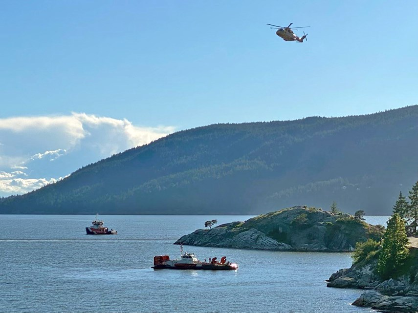 Missing kayaker search and rescue