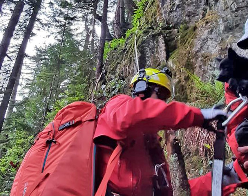 North Shore Rescue - Mt. Fromme, June 10, 2021 IIWEB