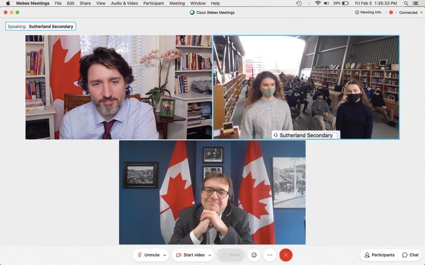 Trudeau at Sutherland 03 web