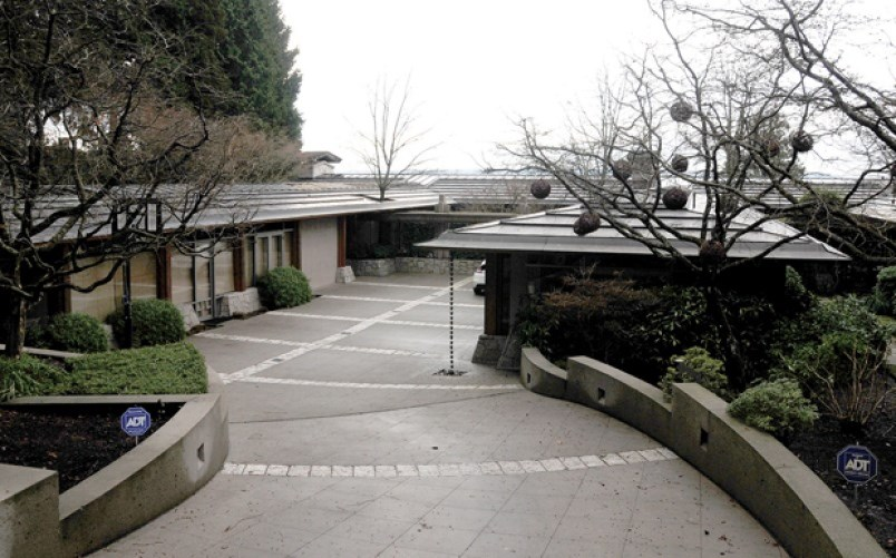 A waterfront mansion at 3330 Radcliffe Ave. in West Vancouver topped the North Shore's assessment rolls at $27.3 million.