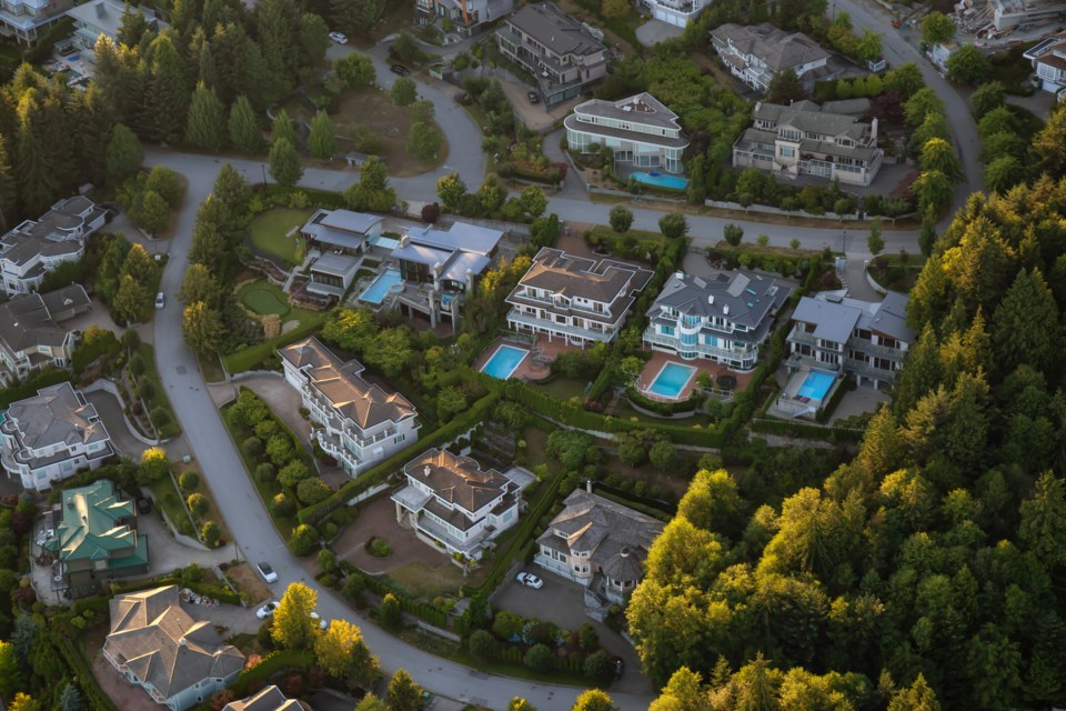 West Vancouver housing