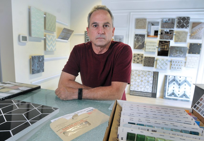Edgewater Studio owner Brady McDonnell says he's shocked by the property tax increases on his City of North Vancouver based business this year.