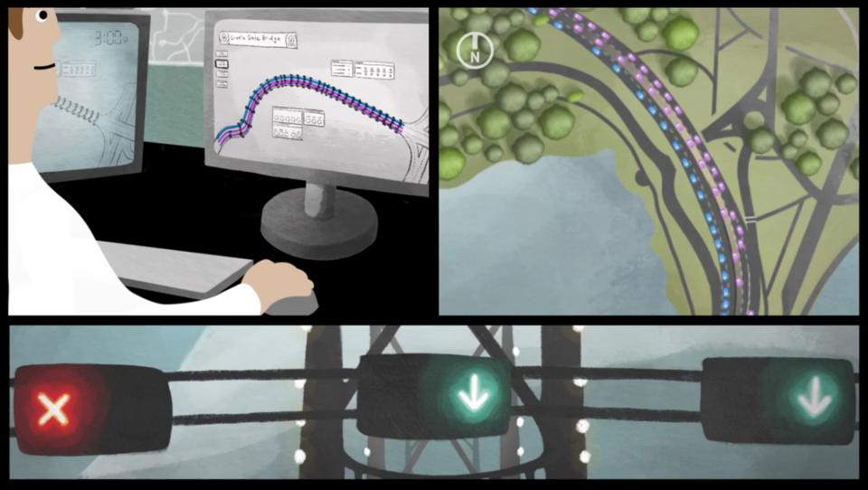 Lions Gate Bridge video