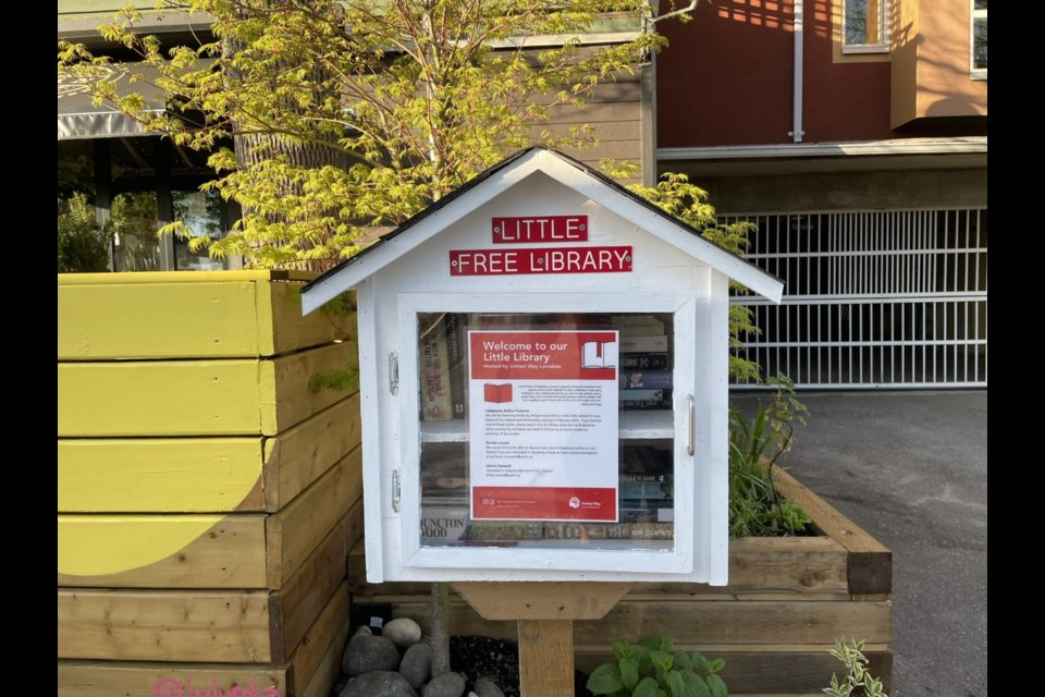 A new North Vancouver Little Library Map leads the way to 81 little libraries. This is the Little Library at 5th and Chesterfield.