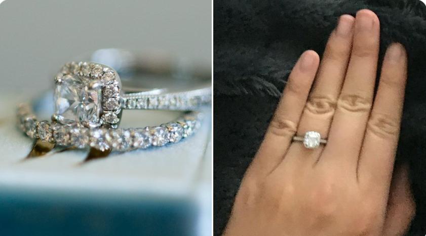 Lost diamond ring North Vancouver