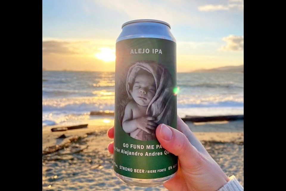 North Point Brewing in North Vancouver raised $10,000 for Canuck Place Children's Hospice by selling its Alejo IPA.