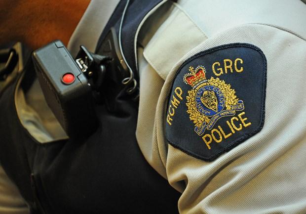 RCMP Shoulder BadgeCINDY