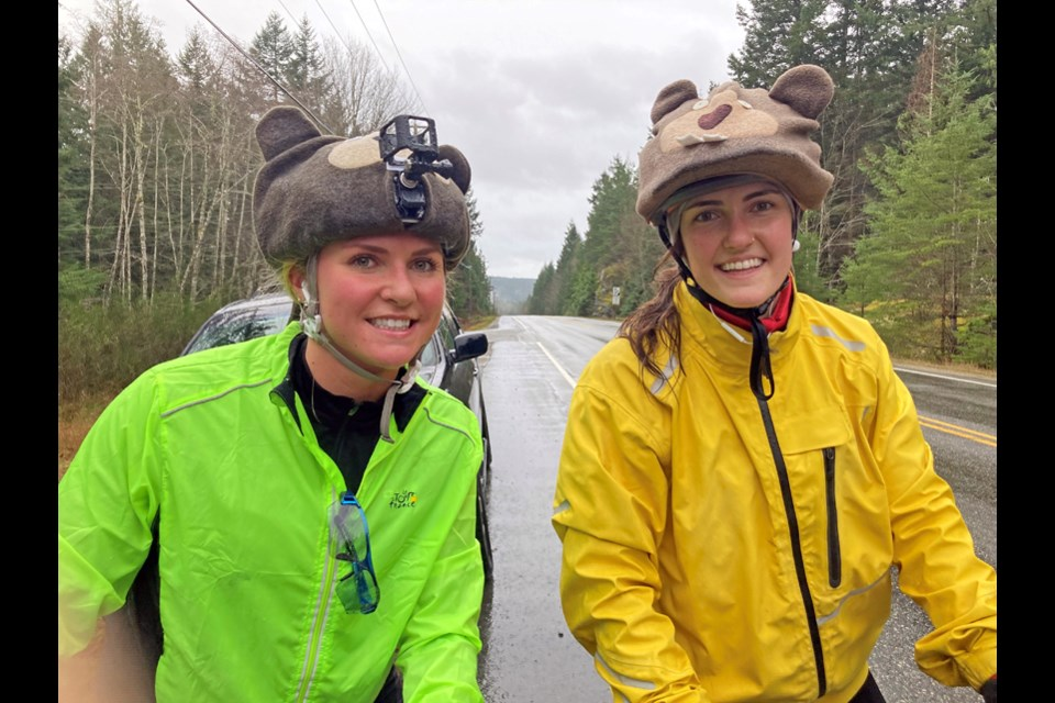 Sisters Chantal and Tessa Campbell helped raise more than $50,000 for brain health after their dad passed away this fall.
