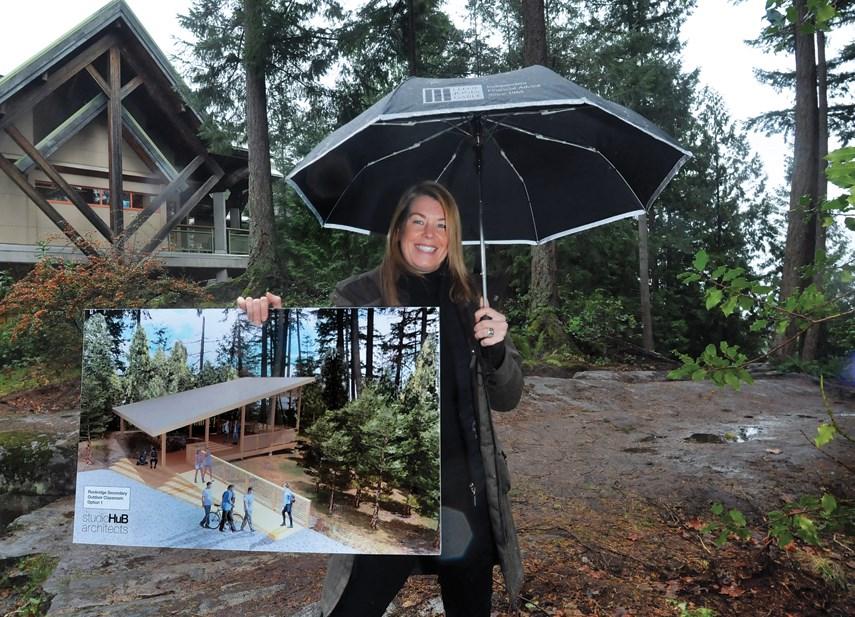 Rockridge outdoor classroom site