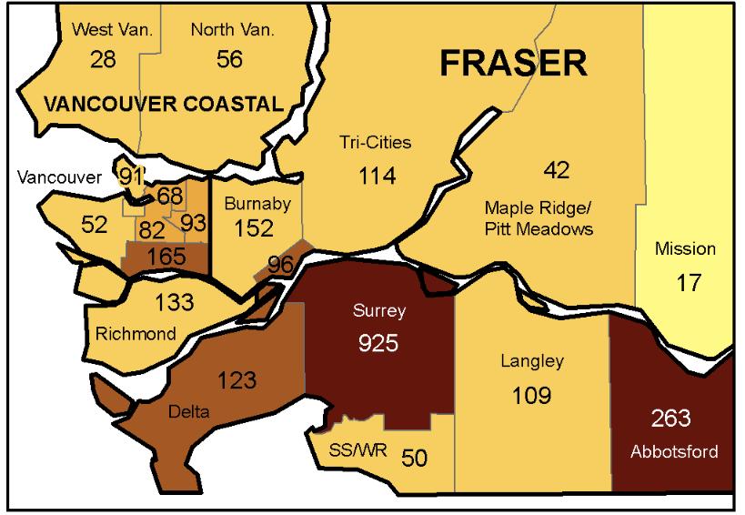 Covid map LM Jan9