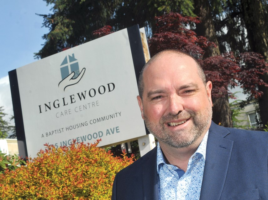 """Baptist Housing president and CEO Marc Kinna has high hopes for the non-profit society's plan to redevelop Inglewood Care Centre into a """"campus of care"""" for seniors."""