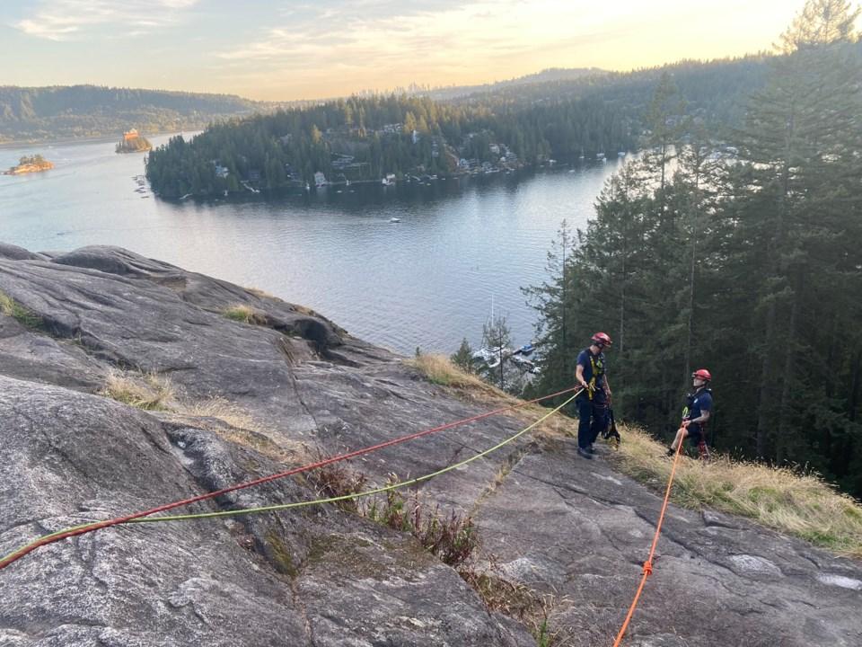 quarry rock trail rescue
