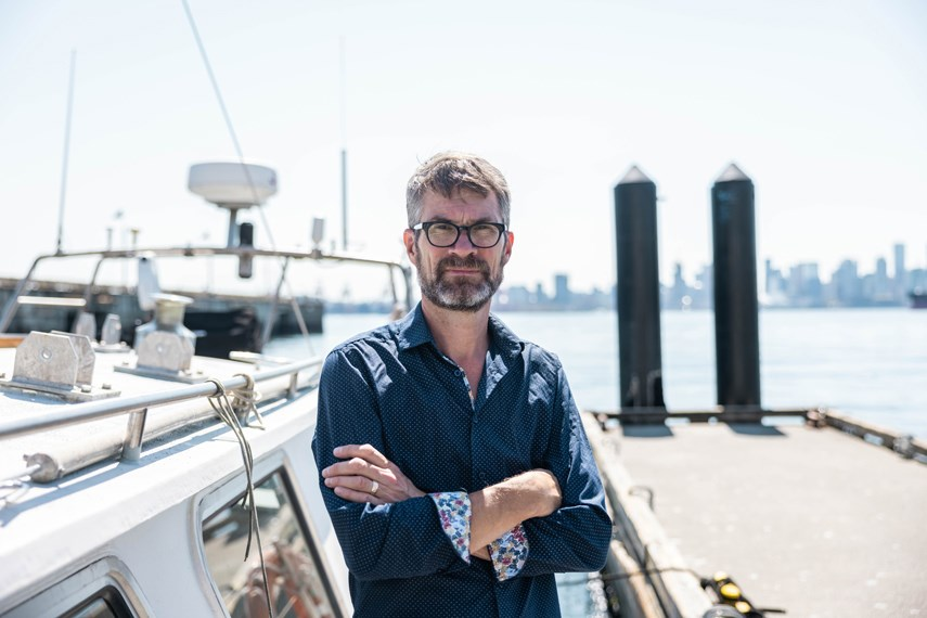 Dr. Peter Ross, an international pollution expert, is aiming to create team of 'water champions' as part of a new project with the Raincoast Conservation Foundation.
