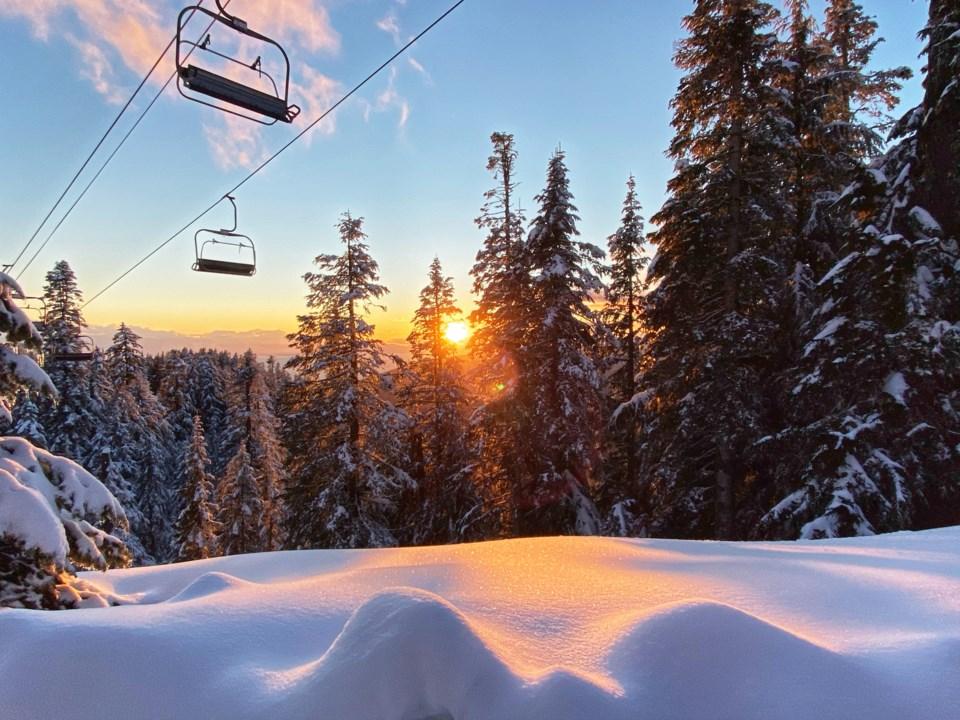 Snow Grouse Mountain