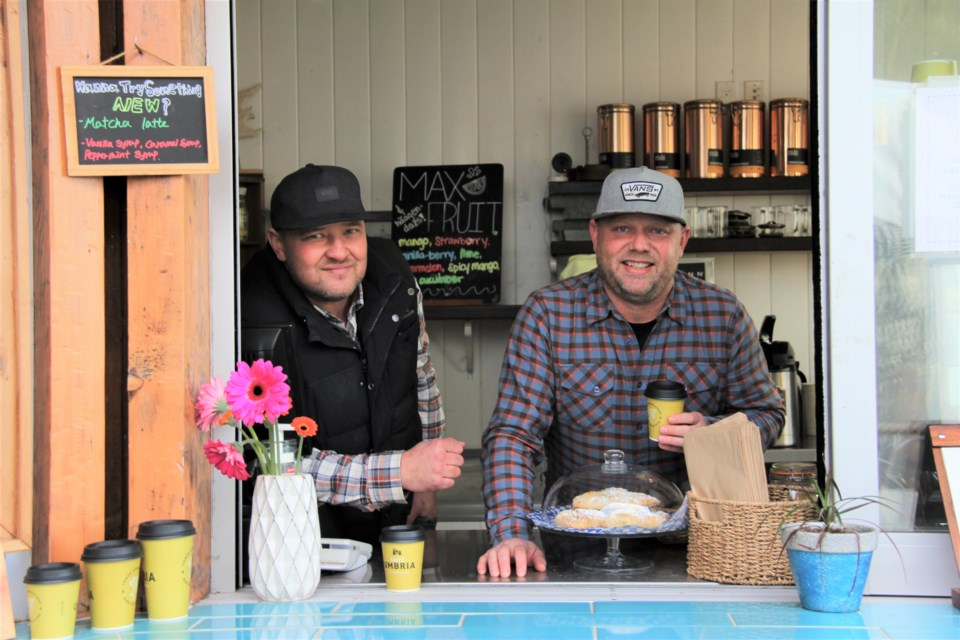 West Vancouver friends Jason Kittler and Jason Hofman took over the Ambleside Beach concession stand and turned it into The Boat Shed, a vibrant cafe with Aussie style.