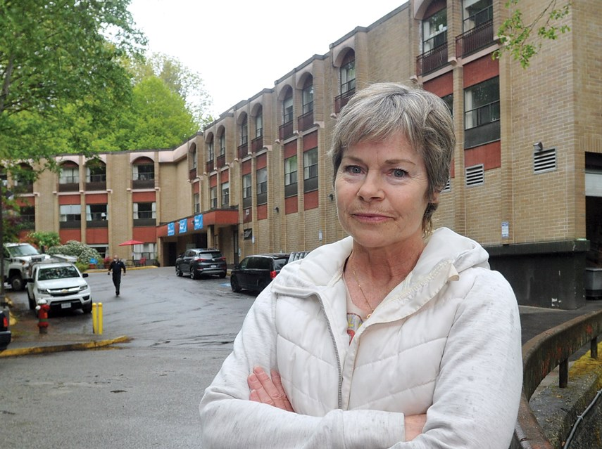 Capilano Care Centre recreation aide Heather Fowler says the  closure of the West Vancouver care home is sad for residents and staff..