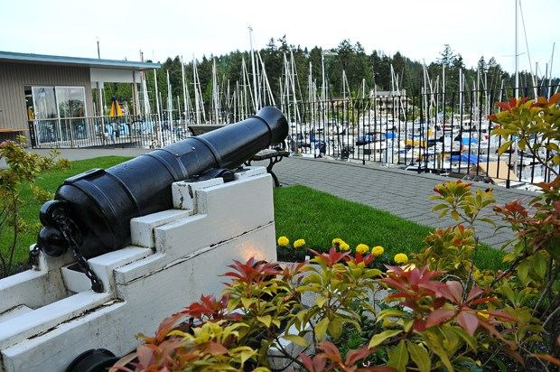 Cannon at WV Yacht Club CG