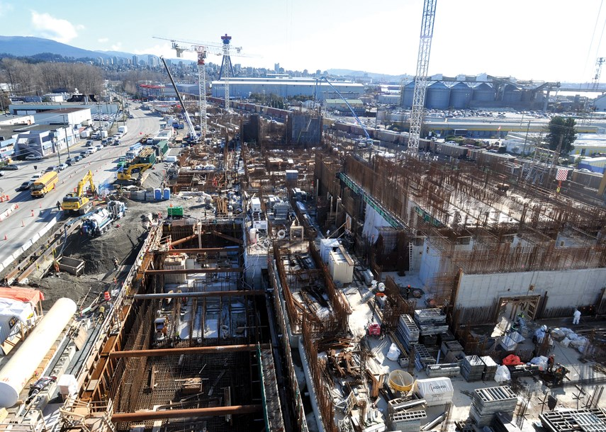 North Shore sewage plant construction 03