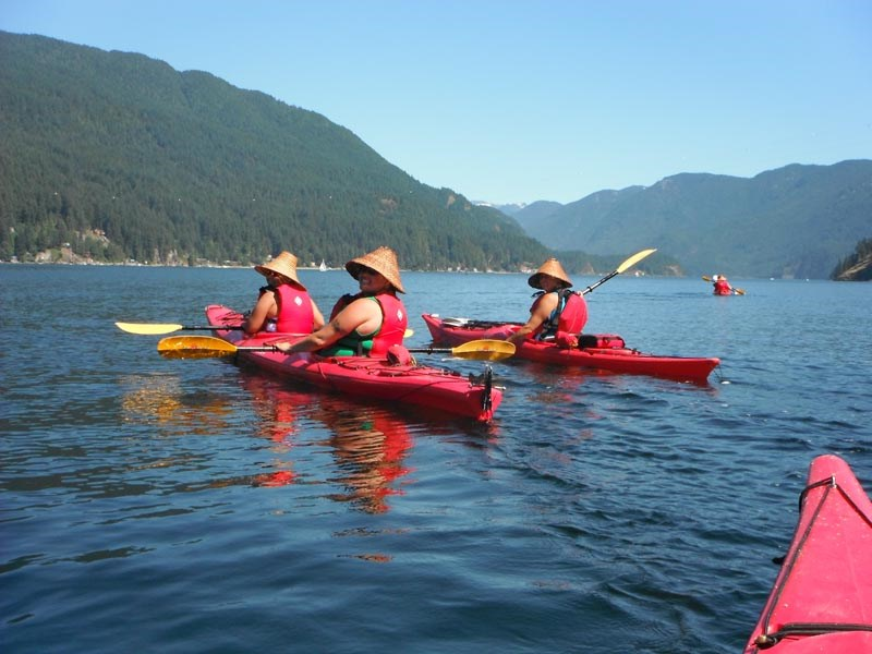 Explore Whey-ah-wichen (Cates Park) in North Vancouver, by hiring a kayak from Takaya Tours.
