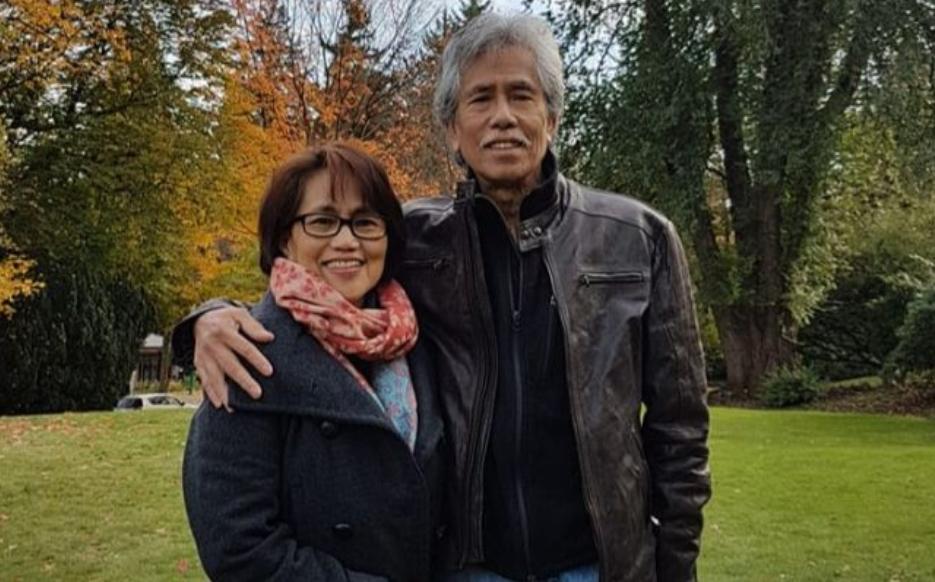 Marcelina Perdido Agulay and her husband Leonilo