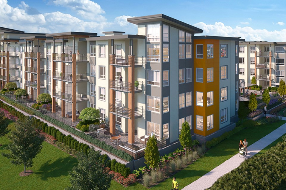 Hamilton Village West is set to be completed in spring 2024.