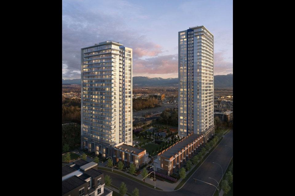 The Towers are coming to Langley's master-planned, 75-acre community of Latimer Heights in September 2021.