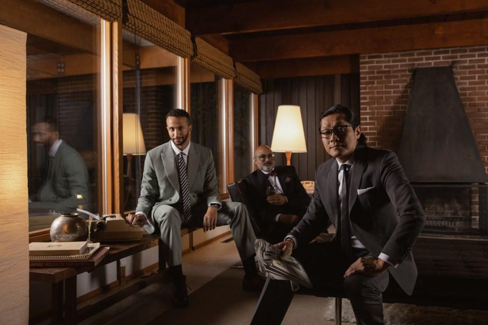 West Coast Modern Group: Trent Rodney, Jason Choi, Karim Bhatia. Photo: Trevor Brady.