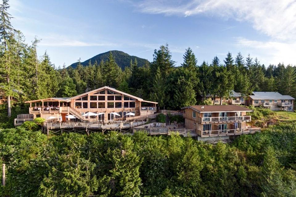 West Coast Wilderness Lodge.