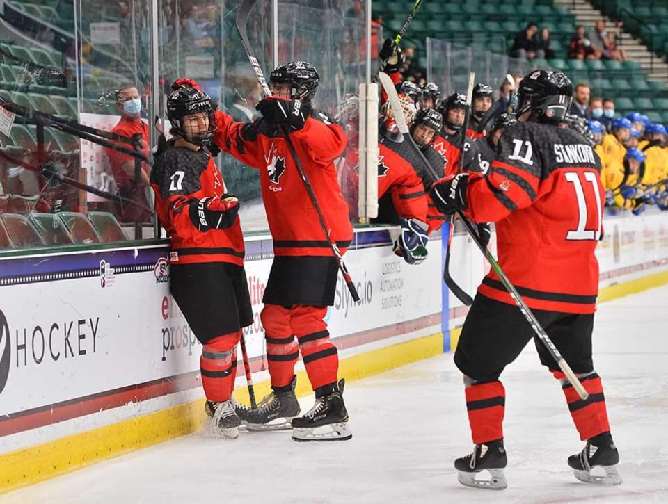 Connor Bedard - credit Chris Tanouye and Ryan McCullough HHOF-IIHF Images - web