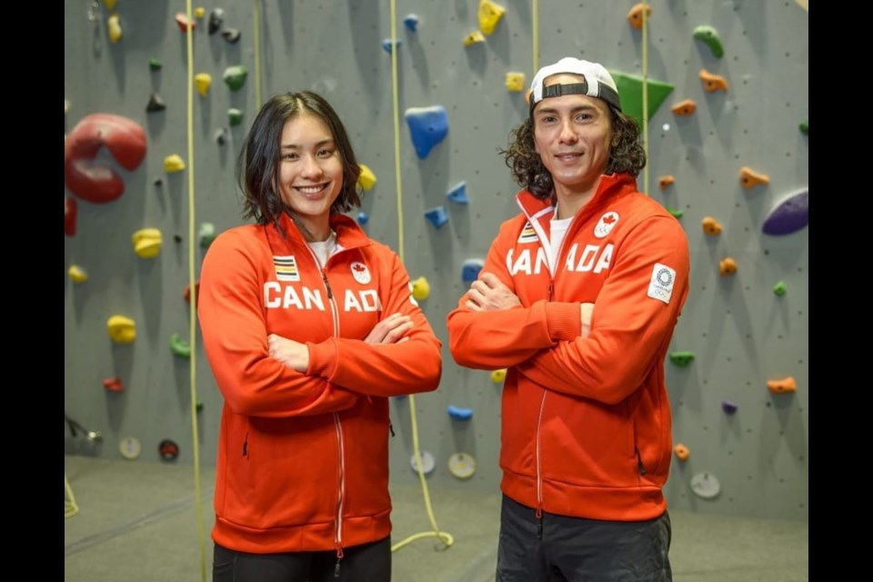Lifelong family friends Alannah Yip and Sean McColl are about to become the first two Canadians ever to compete in sport climbing in the Olympic Games.