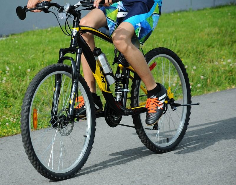 Bike Rider Close Up
