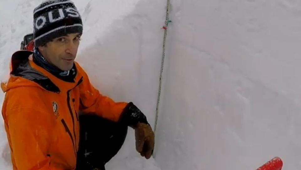 André-Jean AJ Maheu, NSR's avalanche safety officer