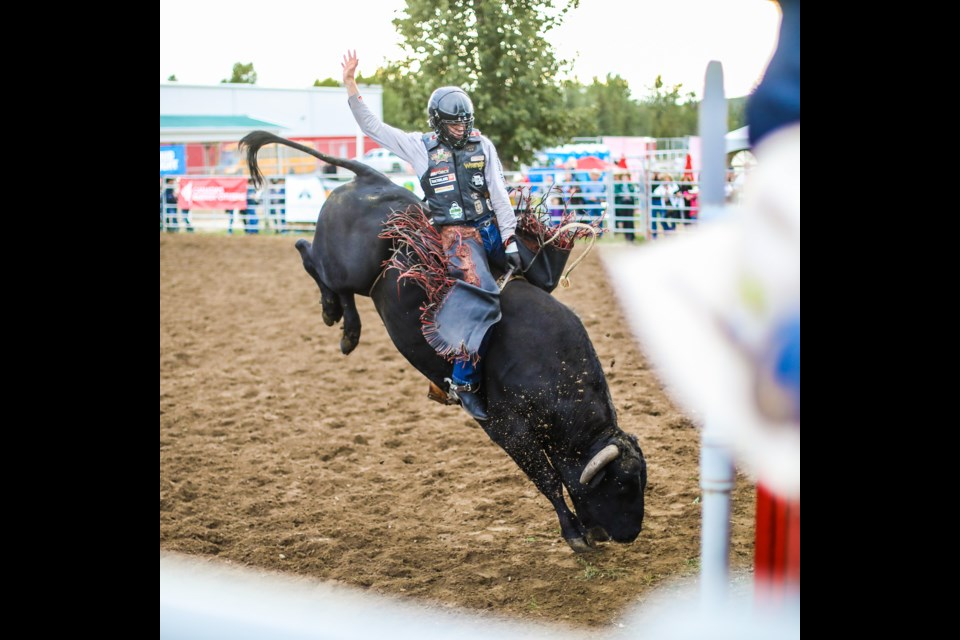 Dewinton Bull Rider Bumped Off Top Of Charts In Okotoks