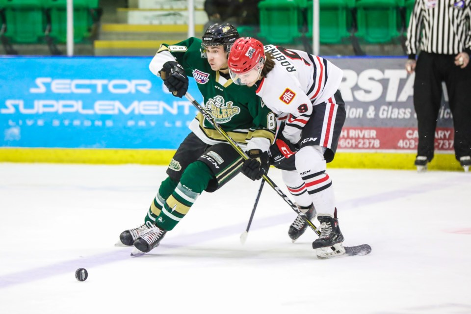 Okotoks Oilers  Brayden Morrison and the rest of the squad are in action on Jan. 3 at the Pason to take on the top-ranked Brooks Bandits at 7 p.m.