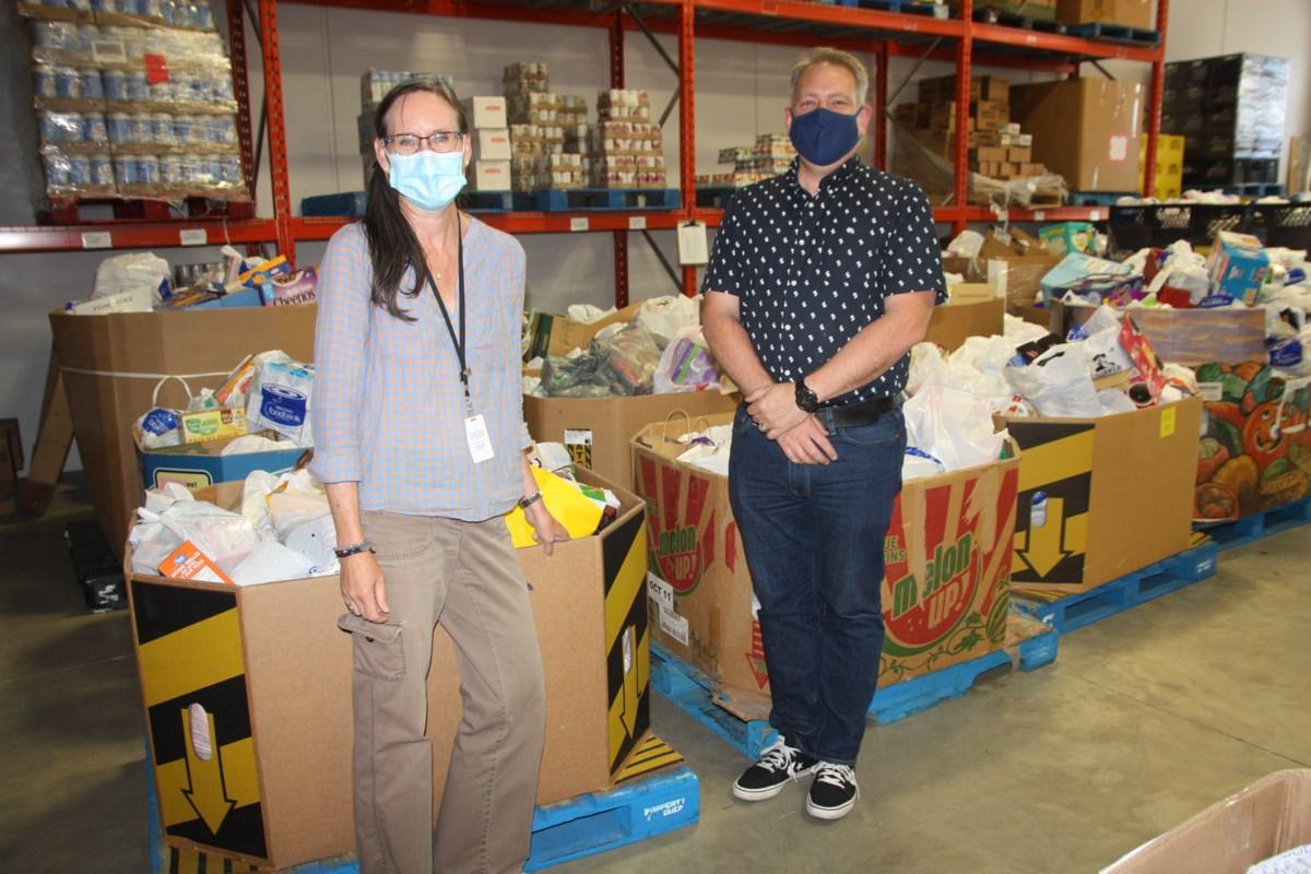 Okotoks LDS church fills food bank's shelves