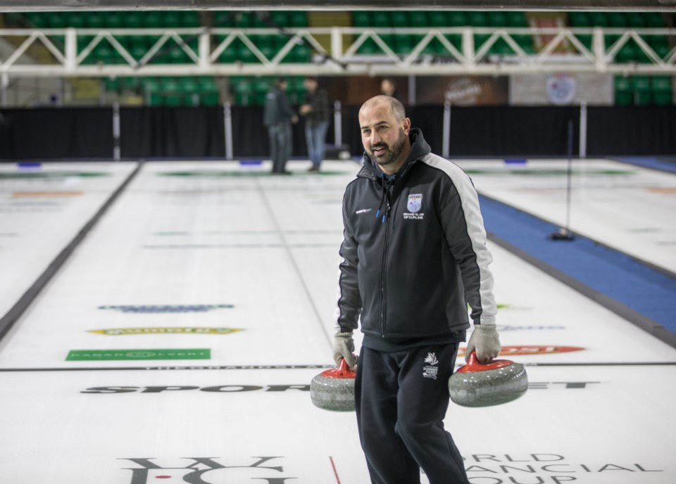 Curling Ice 9589aa