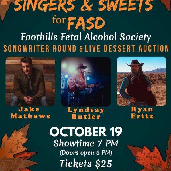 Songwriters helping to raise awareness of fetal alcohol spectrum disorder.