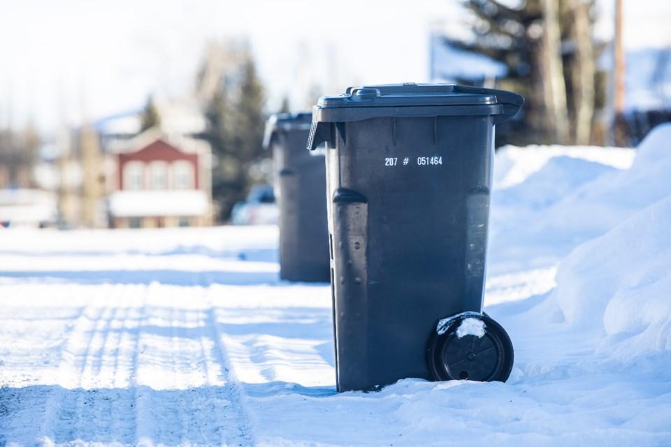 Black Diamond Garbage Cans 7326 BWC
