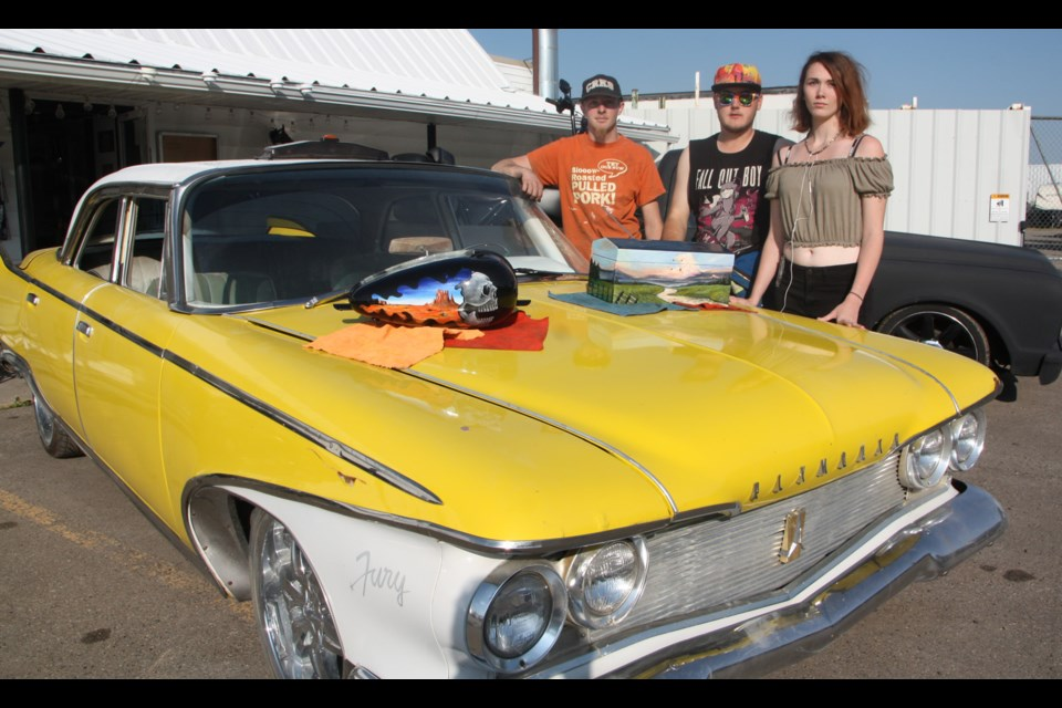 This 1960s Fury will be made up to look like a Death Cab in tribute to the movie Christine at the Olde Towne Okotoks Show 'n Shine on Aug. 18.