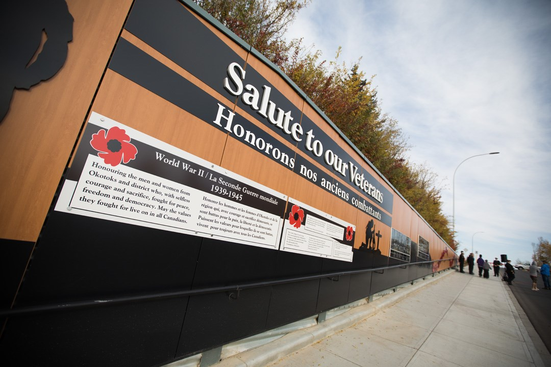 Town seeking names, photographs for next phase of Veterans Wall
