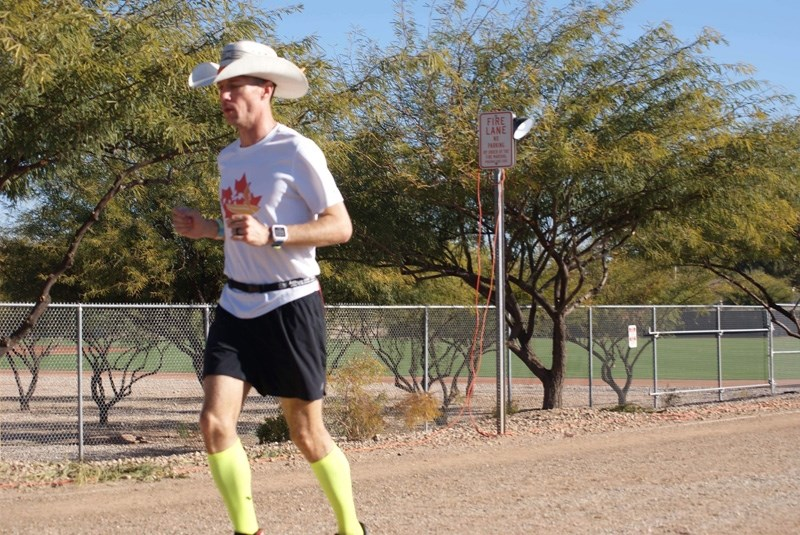 Dave Proctor finished third at the Across The Years six-day ultramarathon in Glendale, Az. Dec. 28-Jan. 3.