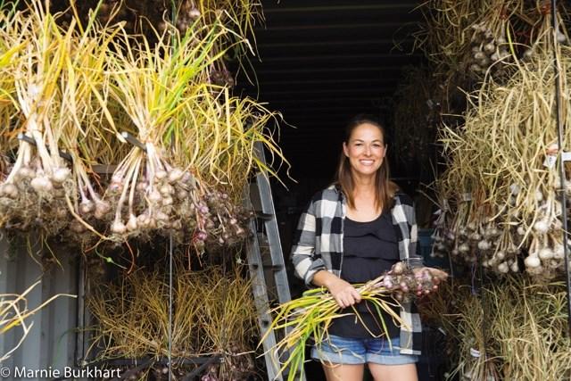 Garlic grower Cheryl Greisinger will have tips to share on growing the seasoning during Sunday' s Garlic Festival in Black Diamond.