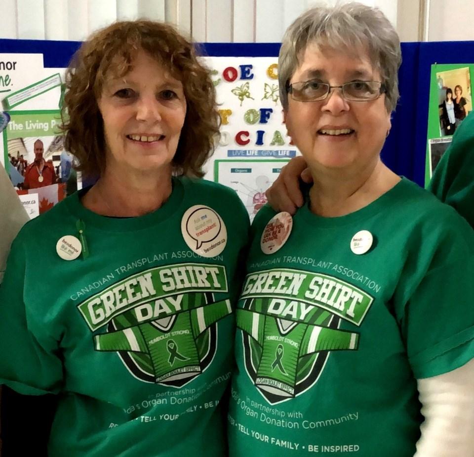 2019-04-09 green shirts organ